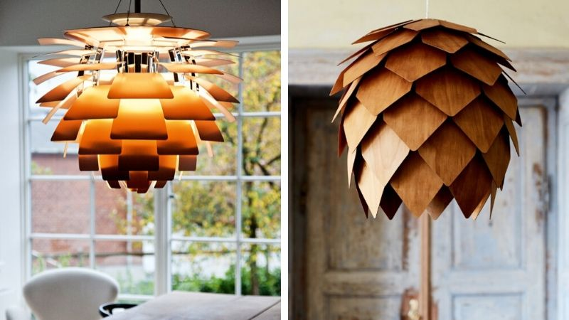 vakre kongle lamper til hjemmet