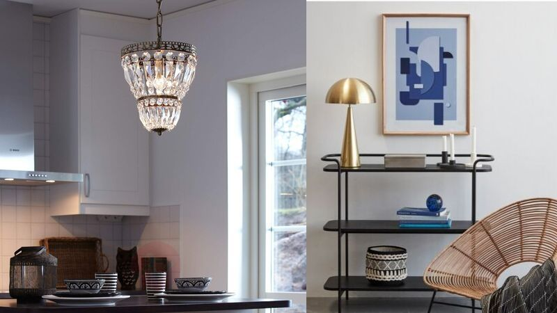 antikk lamper til bolig