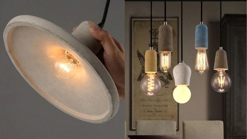 lamper i betong