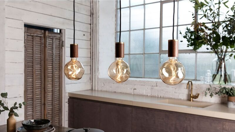 dekorpærer og dekorative lyspærer i vintage stil